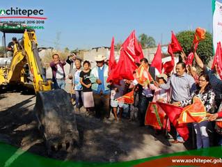 Inician trabajos para construir casa de cultura en Alpuyeca
