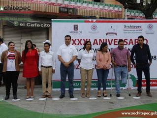 Conmemoran sismo del 85 y realizan simulacro en Xochitepec