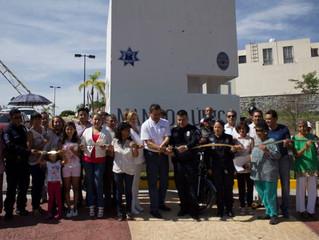 Inauguran módulo de seguridad en Atlacholoaya