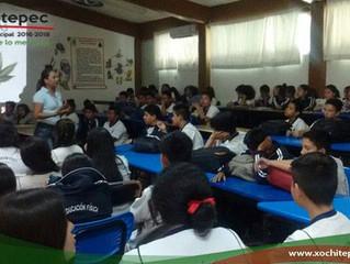 Ofrecen pláticas preventivas a jóvenes del municipio