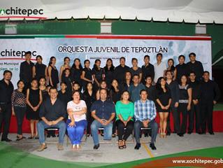Impulsa Xochitepec conciertos culturales