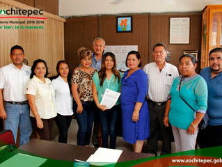 Firman convenio Cetis 43 y Ayuntamiento