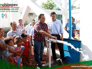 Benefician a cientos de familias con pozo en El Pedregal