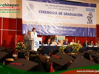Graduación del Cetis 43