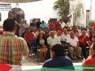 Inician campaña aspirantes a las Ayudantías Municipales.