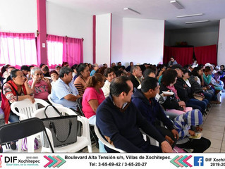 Aplica DIF Xochitepec examen gratuito de detección de cataratas.
