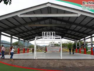 Inauguración e inicio de obras en diferentes localidades del municipio.