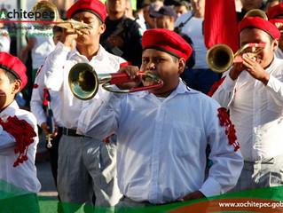Celebran 106 aniversario de la Revolución Mexicana