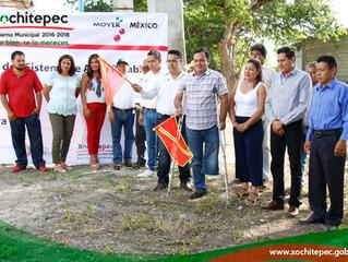 Inicia ampliación de sistema de agua potable en Atlacholoaya