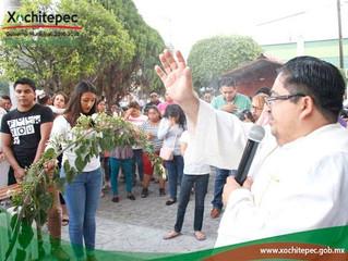Celebran tradicional ofrenda-promesa 2017