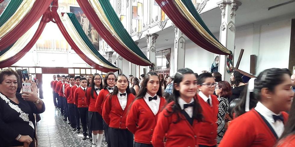 Misa de celebración Santa Teresita