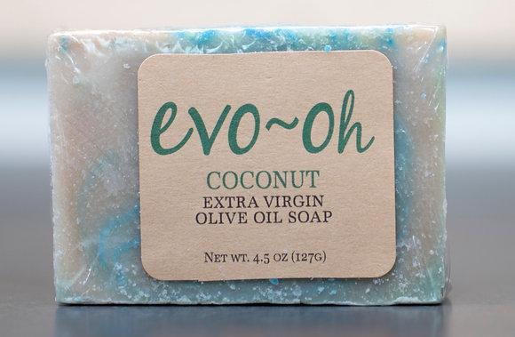 Evo-oh Coconut EVOO Soap