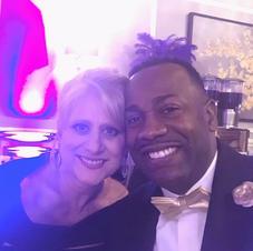 Founder Sherri Davis & Arts Supporter Brandon Sherman Amerius Bank