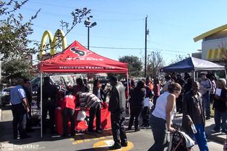 Texans Friday at McDonalds