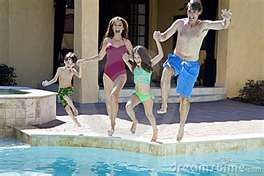Family Fun - Pool Time