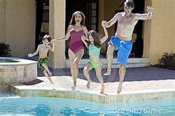 Family Fun - Pool Time