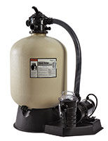 Pentair Sand Dollar sand filter wih Dynamo Pump