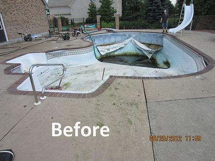 Inground pool renovations