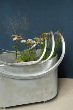 sculpture bac jardinière