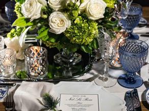 Tablescape Inspo: Wedding Blues...
