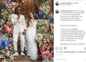 Quarantine Wedding Alert: Elaine Welteroth just got married!!