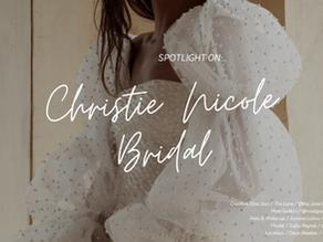 Spotlight on: Christie Nicole Bridal