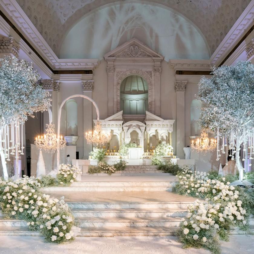 Christine Quinn & Christian Richard's wedding