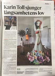 Karin Toll artikel papperskonst