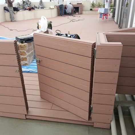 寶馬山戶外木欄柵工程19