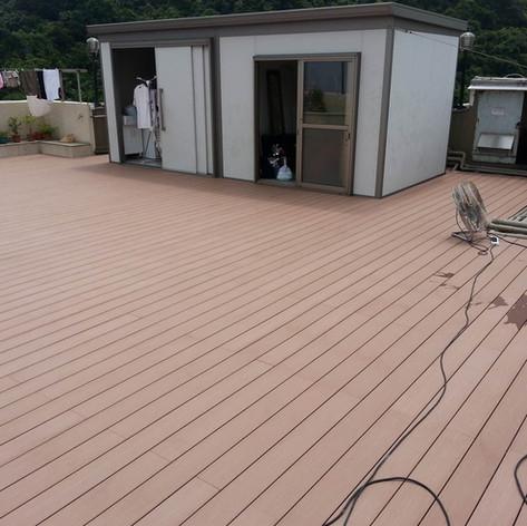 寶馬山戶外木地板工程11