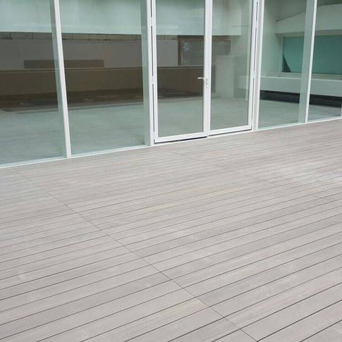 港威戶外木地板工程1
