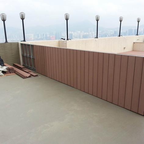 寶馬山戶外木欄柵工程22