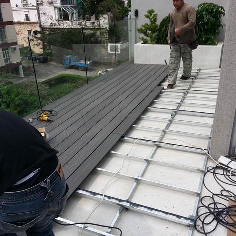 畢拉山戶外木工程4