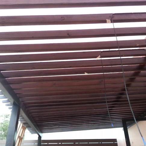 薄扶林戶外木工程10