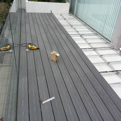 畢拉山戶外木工程5