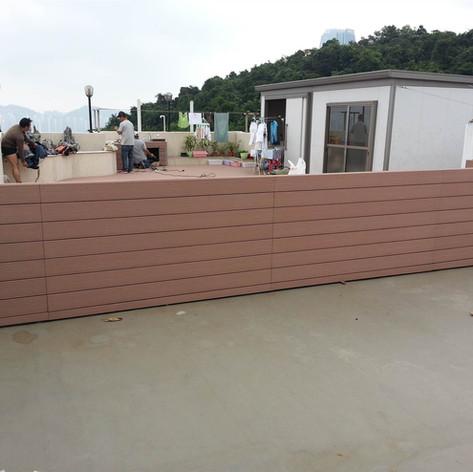 寶馬山戶外木欄柵工程17