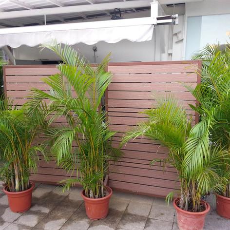 沙田中央大會堂餐廳戶外欄柵2