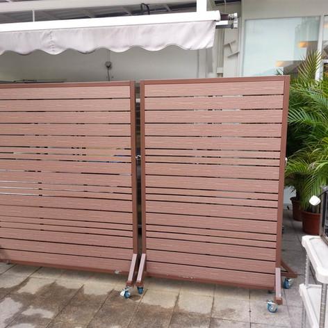 沙田中央大會堂餐廳戶外欄柵4