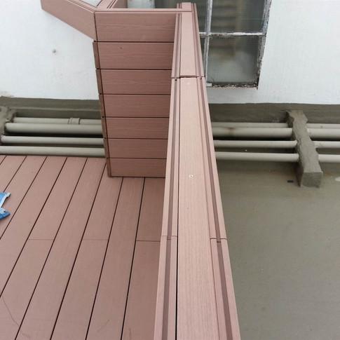 寶馬山戶外木欄柵工程18