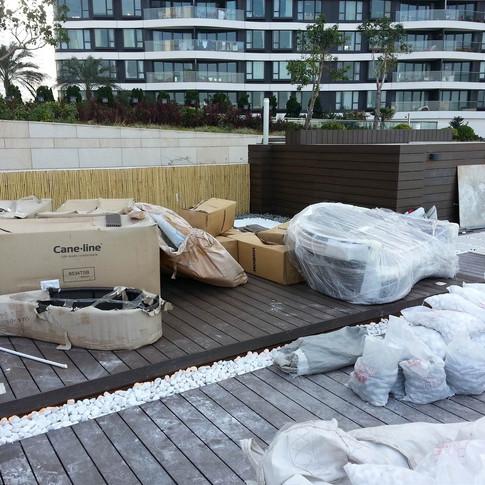 貝沙灣戶外木工程15