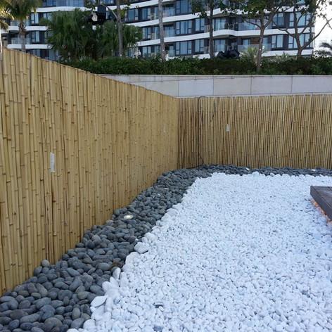 貝沙灣戶外木工程20
