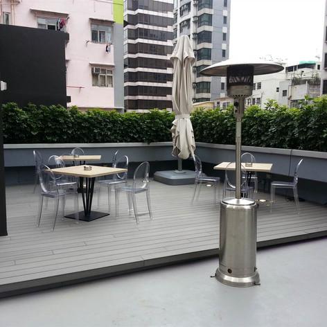 紅磡SAV酒店戶外木工程12
