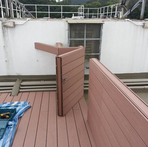 寶馬山戶外木欄柵工程21