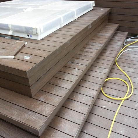 貝沙灣戶外木工程25