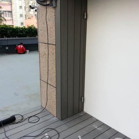 紅磡SAV酒店戶外木工程8