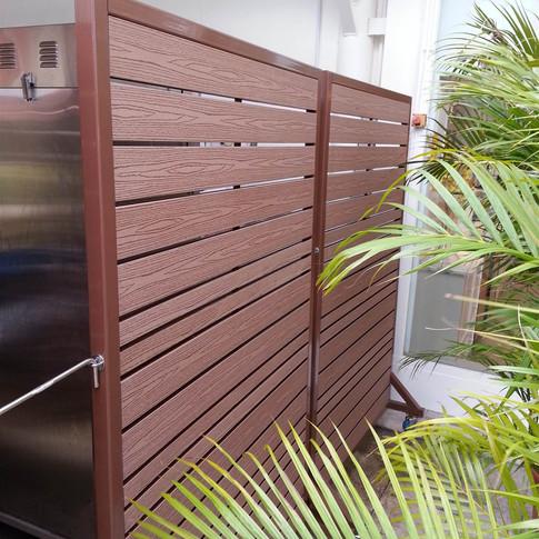 沙田中央大會堂餐廳戶外欄柵3
