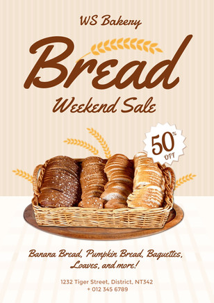 poster design 3 - bakery