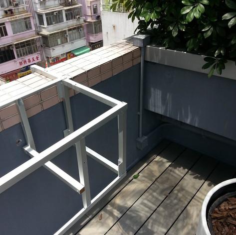 紅磡SAV酒店戶外木工程15