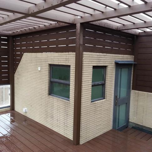 山貝村戶外木工程14