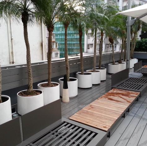 紅磡SAV酒店戶外木工程21